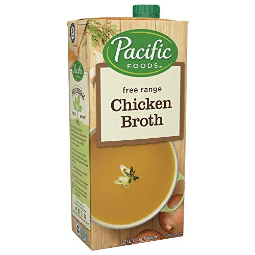 Pacific Foods Free Range Chicken Broth, 32oz
