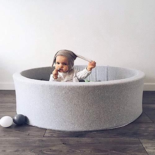Tellabouu for Fechten Manege Runde Spiel Pool Baby Infant Ball Pool Anti Stress Ozean Ball Lustiger Spielplatz Für Kleinkinder Baby