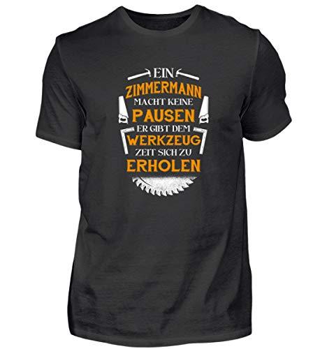 Hochwertiges Herren Shirt - Zimmermann/Zimmerer/Handwerker/Lehrling/Geschenk
