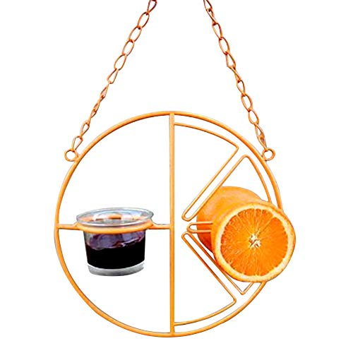 Oriole Bird Feeder Outdoor Garden Home Matal Drinking Hummingbird Hanging Automatic sy Clean Farm Portable Orange Fruit Grape Jelly Pet Supplies