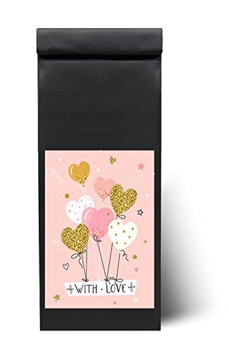 """Tee als Geschenk - Tee zur Feier, für Dein Fest - """"With Love"""" - 200 g - Teegeschenk - """"Mit Liebe"""" Tee als Geschenk von Quertee®"""