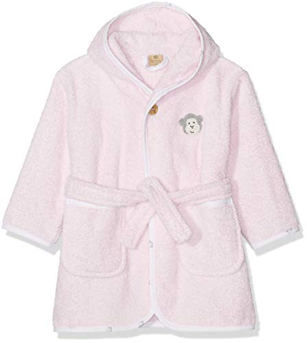 Bellybutton mother nature & me Unisex Baby Bademantel, Rosa (Bb Rose|Rose 2251), 74/80