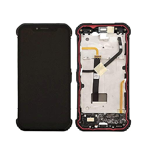 アクセサリーキット Blackview BV9600 Pro 6.21インチタッチパネル2160x1080 LCDの組み立ての取り替え携帯電話スクリーンの取り替え(色:黒) .置換 (色 : ブラック)