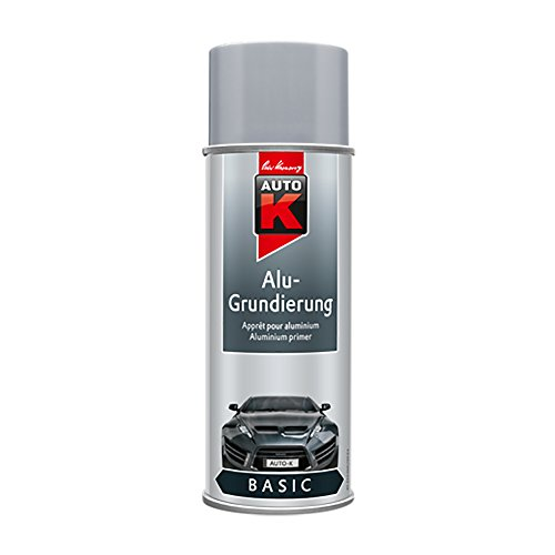 Auto-K KWASNY 233 060 Basic Alu-Grundierung Grau Spray 400ml