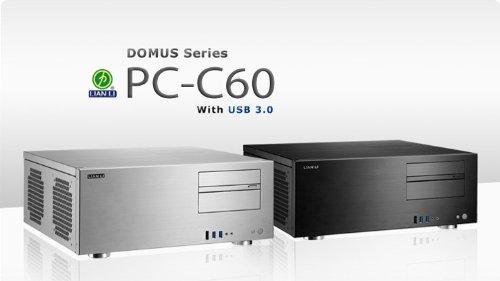 LIAN LI ATXマザーボード対応HTPCケース ブラック DOMUS Series PC-C60B