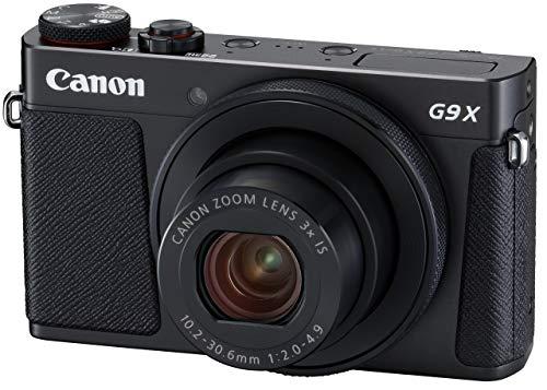 Canon コンパクトデジタルカメラ PowerShot G9 X Mark II ブラック 1.0型センサー F2.0レンズ 光学3倍ズーム PSG9XMARKIIBK-A