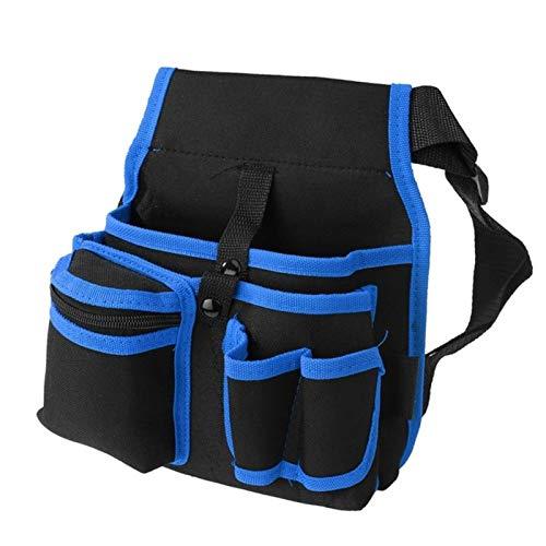 Taladro eléctrico Cinturón de cintura Hebilla de almacenamiento Correa de cintura Estuche de herramientas para colgar Organizador para llave Martillo Destornillador Bolsa de cintura