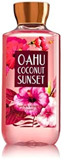 【Bath&Body Works/バス&ボディワークス】 シャワージェル オアフココナッツサンセット Shower Gel Oahu Coconut Sunset 10 fl oz / 295 mL [並行輸入品]