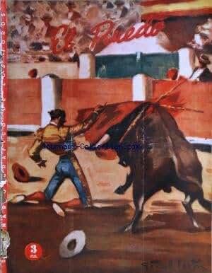 EL RUEDO [No 318] du 27/07/1950 - EL EJEMPLO DE BARCELONA - ACTUALIDAD TAURINA - DOMINGO ORTEGA