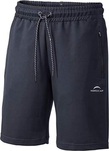 Nordcap Herren Sweatbermudas, komfortable Jogginghose für Männer, maximale Bewegungsfreiheit, Kurze Freizeithose/Trainingshose aus Baumwolle, Gr. M - XXXL