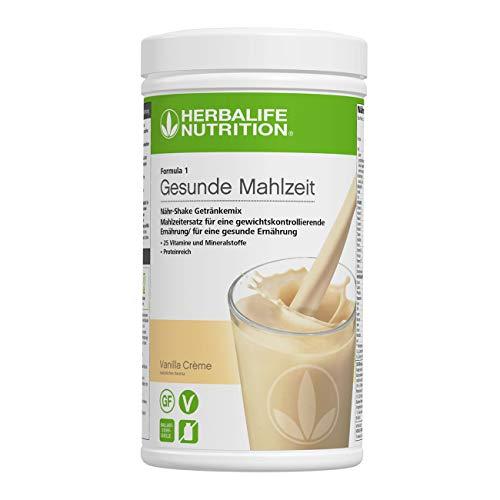 HERBALIFE NUTRITION Boisson Protéinée Substitut de Repas, Saveur Vanille Onctueuse 550g