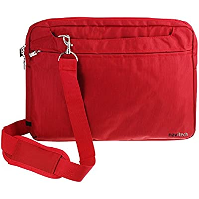 Navitech Red Graphics Tablet Case//Bag Compatible with The Wacom Intuos Pro S
