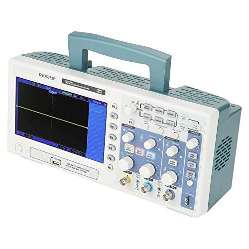 Osciloscopio DSO5072P 1GSa / s Modos de disparo abundantes Profundidad de memoria de 40K Osciloscopio de 2 canales Osciloscopio Osciloscopio digital(European regulations)