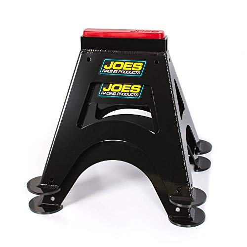 Joes Racing Products 55500-B Wagenheber-Ständer schwarz pulverbeschichtet Paar, 14 in Tall, 7 x 8 in Rectangle Base