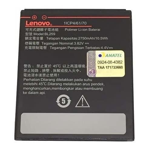 Bateria Lenovo Vibe K5 A6020 K32c3 C2 K10a40 Modelo Bl259 A6020 Lenovo K3 Note Lenovo Vibe C2