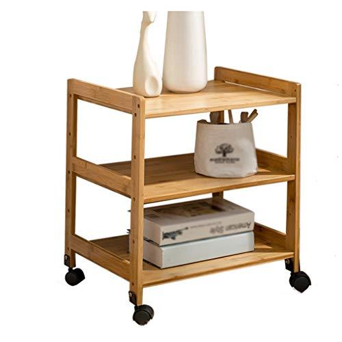 YULAN Salon Petite Table Basse Table de Chevet Nordique Mini Table d'appoint Simple Moderne en Bambou (Size : 35X38X50cm)
