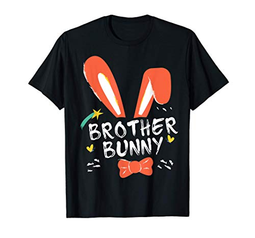 Happy Easter Day Brother Bunny Ears Costume Family Easter T-Shirt