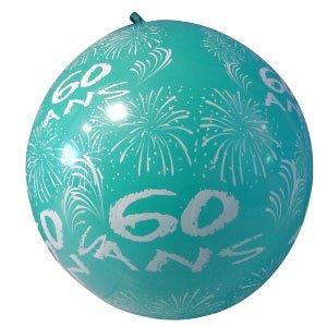 Ballon Géant Anniversaire - 60 Ans -Bleu