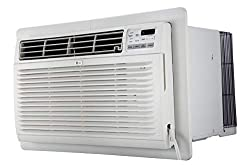 in budget affordable LG LT1216CER 11.800 BTU 115V air conditioner, with remote control, white