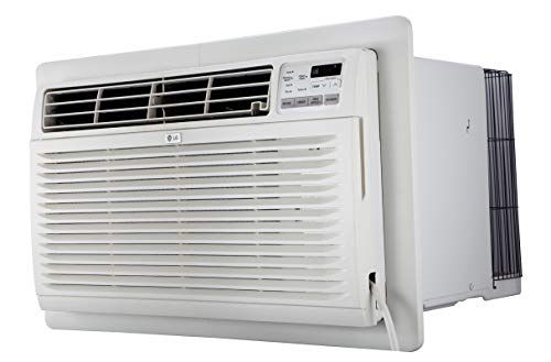 LG LT1216CER 11,800 BTU 115V Through-the-Wall Remote Control Air Conditioner, White