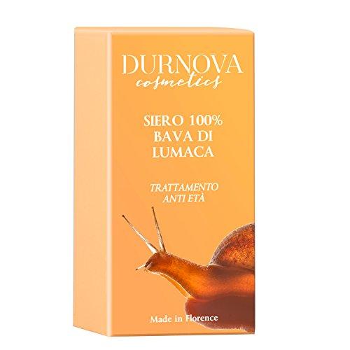 Siero 100% Bava di Lumaca 15 ml, Contro: anti-imperfezioni, segni di espressione, cicatrici cutanee, smagliature, macchie della pelle, segni dell'acne. 100% Made in Italy