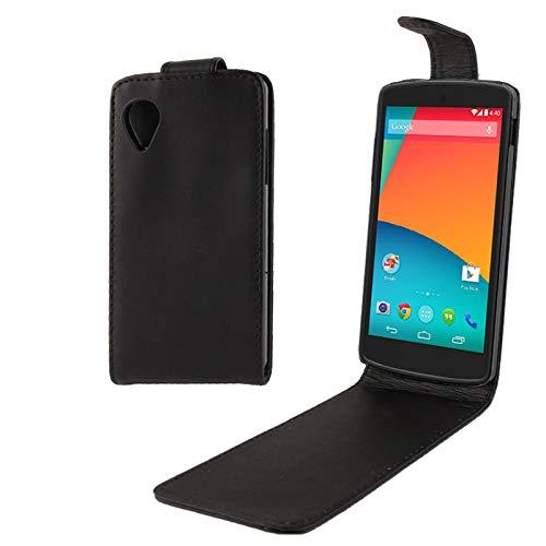 HH-Phone - Funda de piel con tapa para Google Nexus 5 Hangma