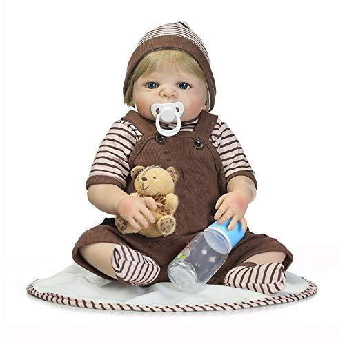 Levensechte Reborn Babypoppen 46 Cm Babypop Volledige Vinyl Body Dus Echt Jongen Model Pop Voor Peuter Bebe Kids Speelgoed Geschenken