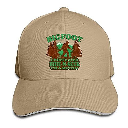 Gorras de béisbol Bigfoot Hide N Seek Gorra De BéIsbol Ajustable De Moda Unisex Gorra De Camionero Sombrero De Papá
