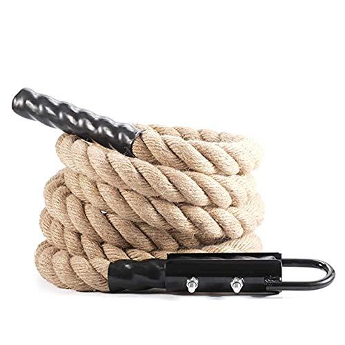 KKCF Funi, arrampicate con la Clip per Il Fitness Rafforzare Potenza Muscolare Battaglia Esercizio supplementare Diametro 38 Millimetri di Spessore,5 Meters