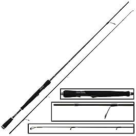 Fox Rage Ti Pro Light Spin Canne à pêche 210 cm 2-10 g