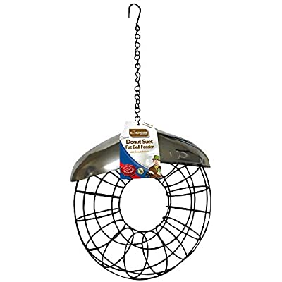 Kingfisher Deluxe Donut Suet Fat Ball Feeder from King Fisher