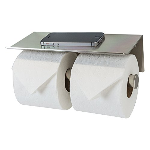 Top 10 best selling list for bobrick double toilet paper holder with shelf