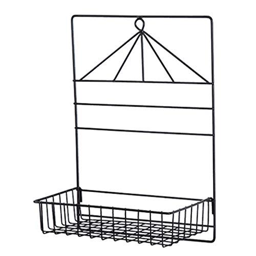 AWX-Bloemstandaard Opknoping Opslagrand – Badplank Opslagruimte Combo Organizer Mand, Voor Wanddecoratie Huisbenodigdheden