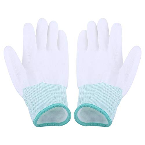 Coating Handschoenen -Safe Universele Handschoenen Anti Statische Antiskid Handschoen PC Computer Antiskid voor Vinger Bescherming (Maat: M)