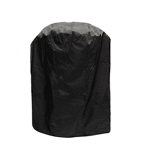 Majome Housse de protection ronde imperméable pour barbecue de jardin, terrasse, cour, bouilloire, barbecue