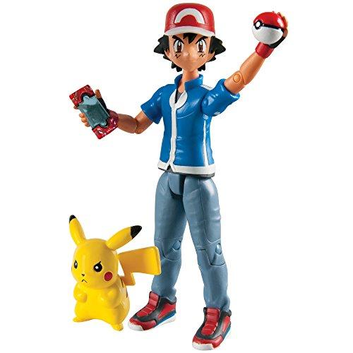 Pokemon Pack de 2 Figuras Ash & Pikachu