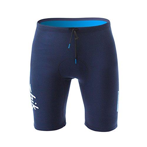 Zhik 2018 Microfleece V 1mm Neoprene Shorts Navy SRT0520 Wetsuit Sizes - Small