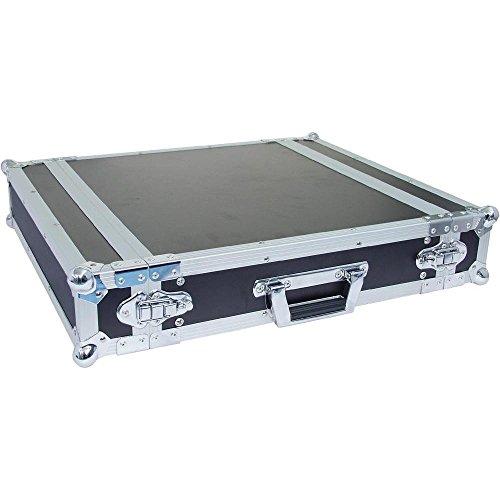 19 Rack - Flightcase 2 HE, Dubbele deur