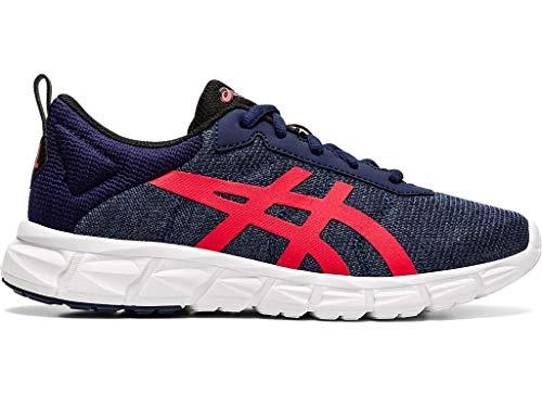 ASICS Gel-Quantum Lyte - Zapatillas para correr para niños, (chamarra de marinero/Rojo clásico), 19