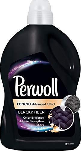 Perwoll Renew Black & Fiber Liquid Laundry Detergent - Advanced Effect (Black, 2.7 Liters, 45 Loads)
