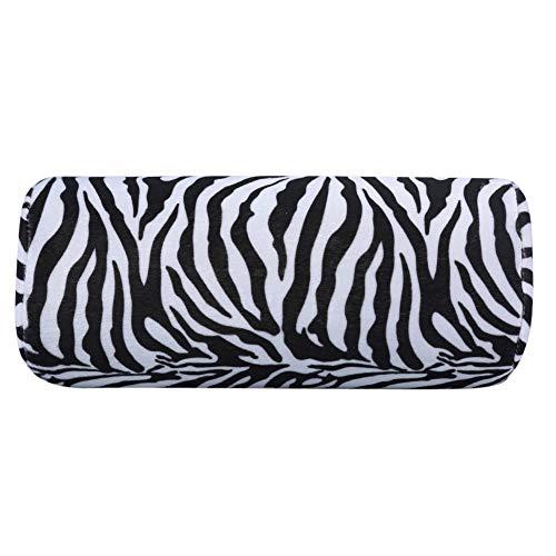 Almohada Mano Mano de Practicas de Uñas Cojín Tratamiento de uñas de arte Manicura Suave Esponja Almohada Patrón de cebra (Color : Zebra Pattern)