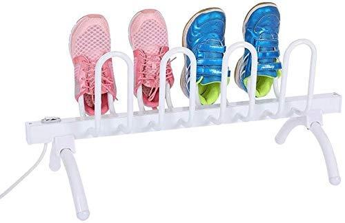 GPWDSN Secador de Zapatos eléctrico Zapatos o Botas de pie Deshumidificador Secador Rejilla de Secado, Desodorante Tipo Soporte Deshumidificación Antibacteriano, Adecuado para Sombreros, Calcetines