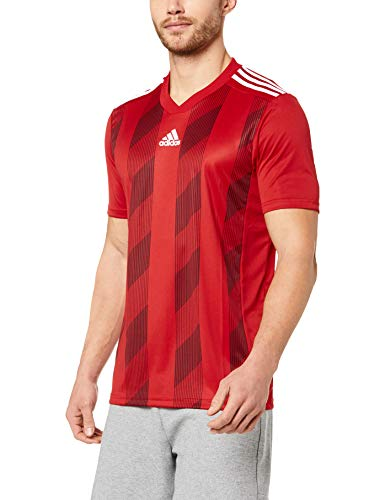 adidas Herren Striped 19 JSY T-Shirt, Power red/White, XL