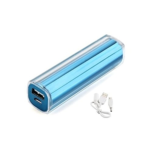 Durshani External Battery Charger 2600mAh Assistant for Mobile MP3 MP4 PSP, various phones - Blue