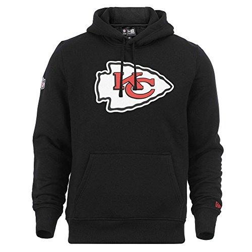 New Era Kansas City Chiefs Hoody Team Logo Po Hoody Black - XL