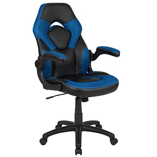 Flash Furniture CH-00095-BL-GG X10 Gaming Chair Racing Office Ergonomic...