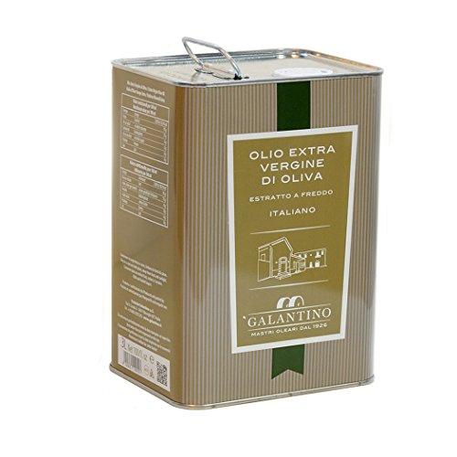 FRANTOIO GALANTINO-Olivenöl extra vergine-Medium-fruchtig Zinn lt. 3 - Italienisch Artisan Produkt