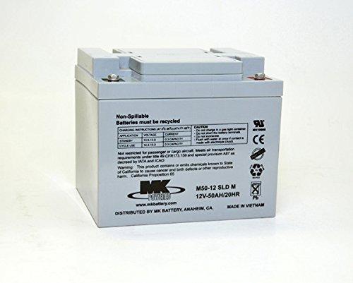MK Powered - Akku AGM M50-12 SLD M 12V 50Ah M6-F