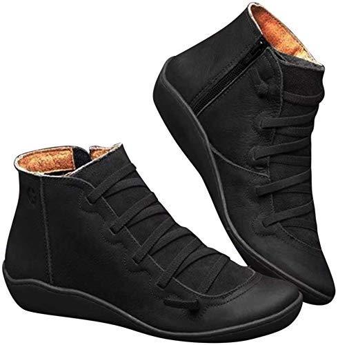 Covok lage rubberlaarzen, zachte laarzen, dames grijze laarzen, dames laarzen met lage hak, laarzen 40, vintage snooien, comfortabele laarzen 38 EU zwart