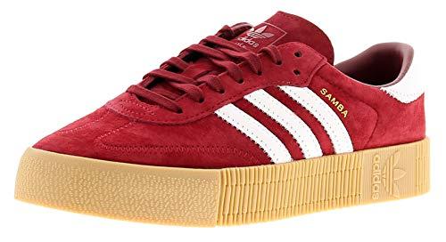 adidas Originals Sambarose Zapatillas deportivas color burdeos, para mujer, Mujer, granate, 38 2/3 EU